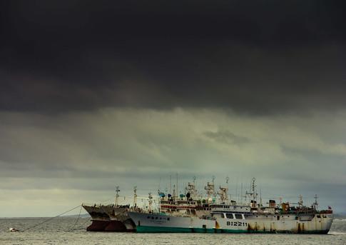 Shipwreck in Fiji