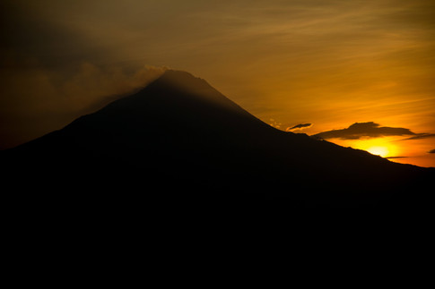 Vulcano Merapi Yogyakarta Indonesia