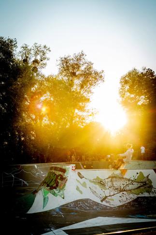 Sunset Skate session