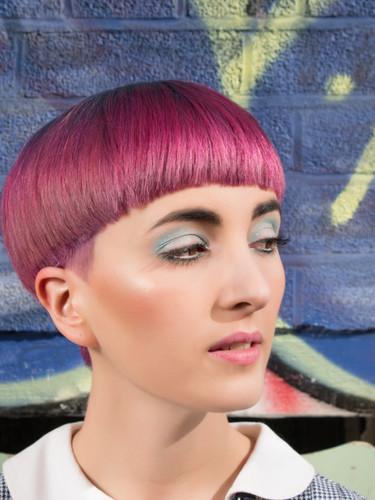 '60s inspired hair