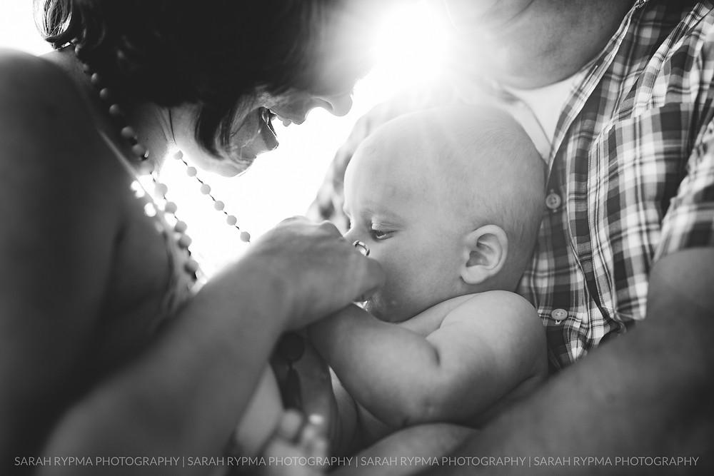 Newborn photographed by Sarah Rypma in Kalamazoo Michigan