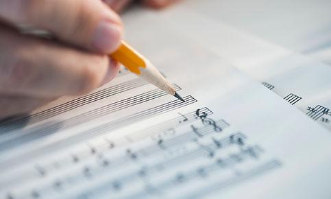 Componiendo musica