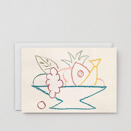 Fruit Bowl Art Card