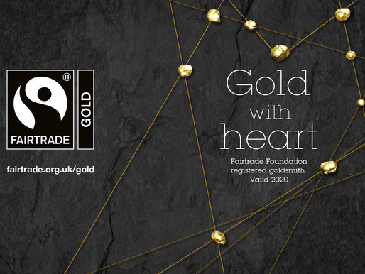 MAMATER now a Fairtrade Registered Goldsmith in the UK