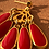 Thumbnail: Water Lily Earrings
