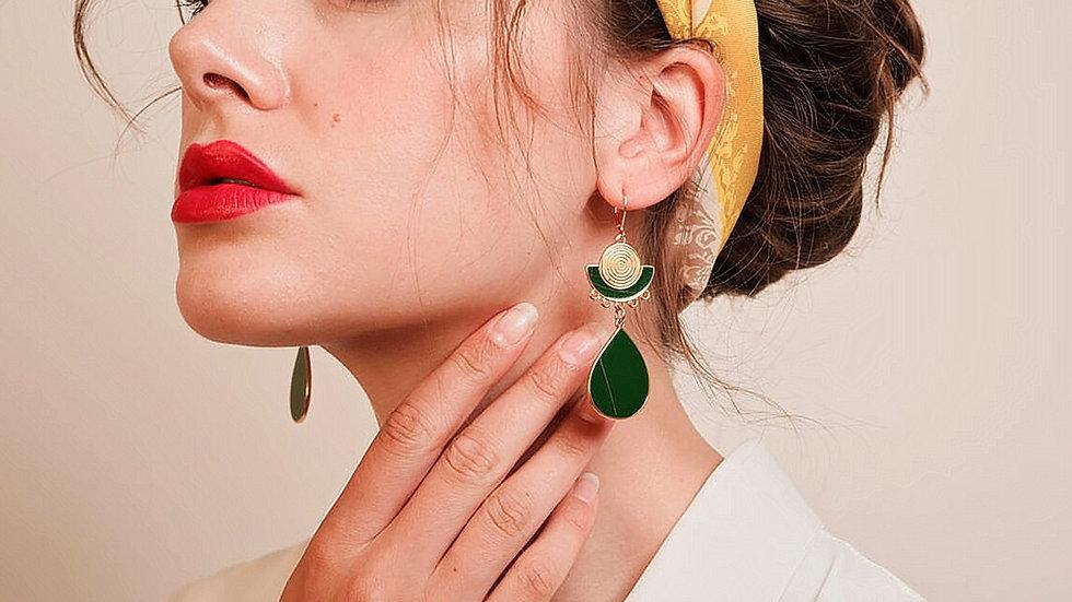 Le Cycle de La Vie Earrings