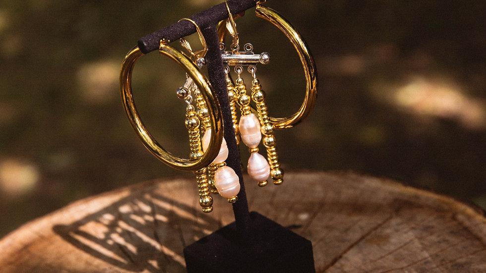 Andromeda Creole Earrings