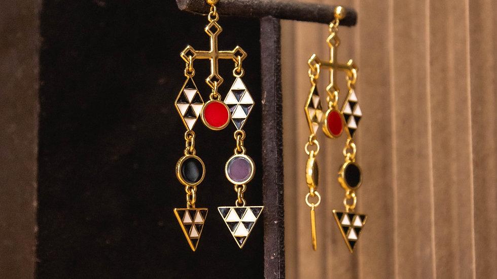 Les Mosaiques Earrings