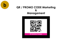 QR  Promo Code Marketing and Management