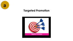 Targeted promotion