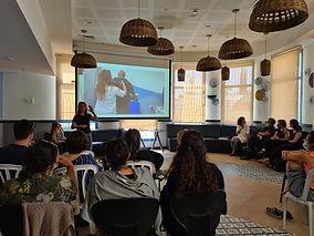 "A seminar for health professionals at ""Adi Negev"""