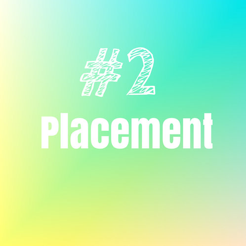 Top placement: Spot #2