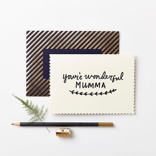 Katie Leamon | Deco Wonderful Mumma Card