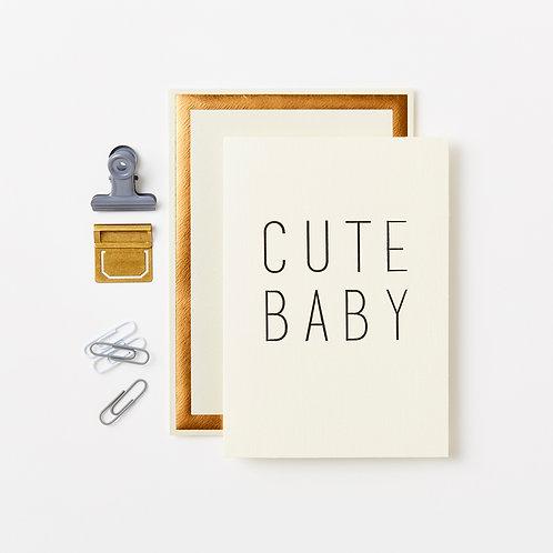 Katie Leamon | Cute Baby Card