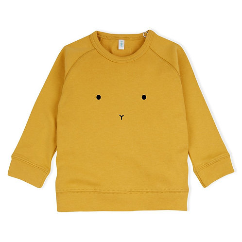 Organic Zoo | Mustard BUNNY Sweatshirt