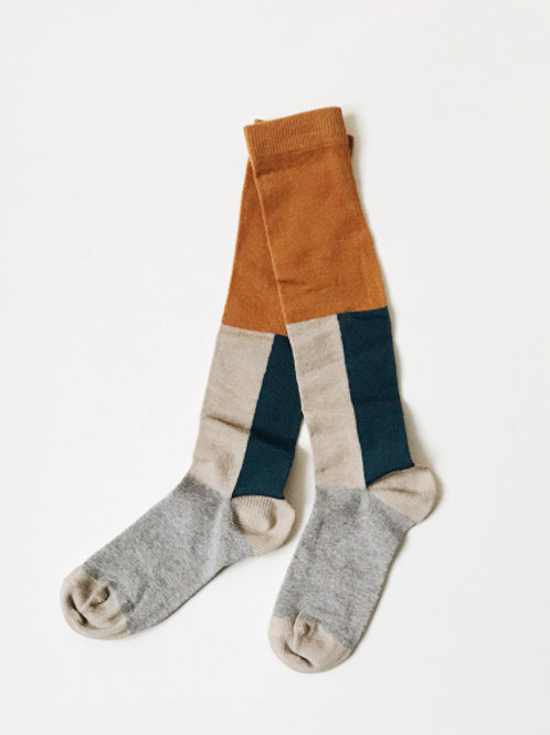 Monkind | Golden Dunes Knee Socks