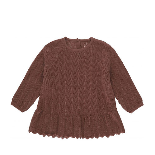 Konges Sløjd | Fortun Frill Wool Blouse Pointelle