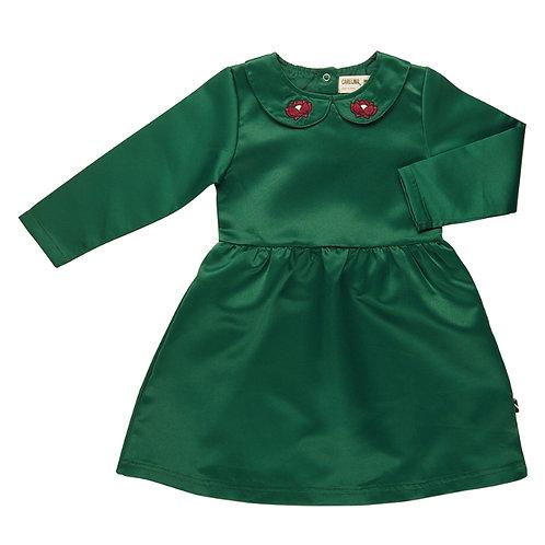 CarlijnQ | Waterlilly - Satin Collar Dress