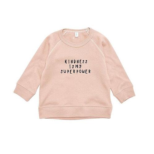 Organic Zoo | Clay Sweatshirt Kindness
