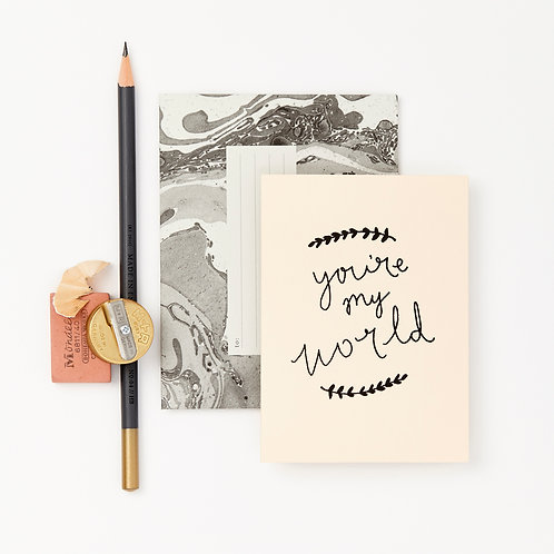 Katie Leamon | You're My World Card