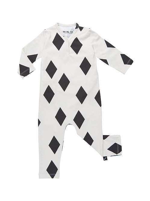 CarlijnQ | Black Diamond - jumpsuit