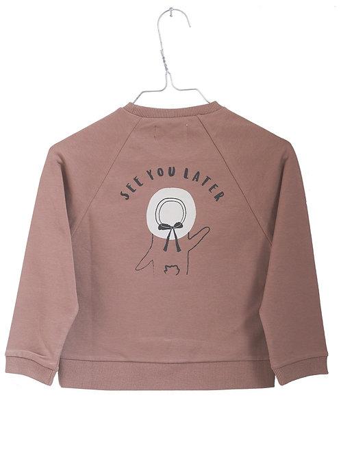 Monsieur Mini   Sweatshirt 'See you later'