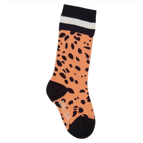 CarlijnQ | Spotted Animal Knee Socks (pink)