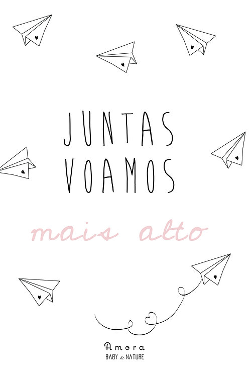 'Juntas voamos mais alto' Digital Print for download