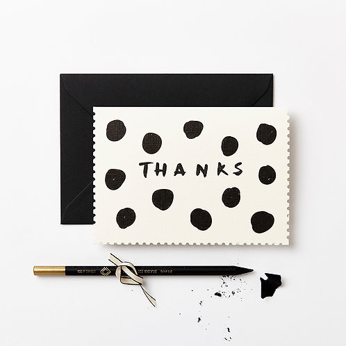 Katie Leamon | Thanks Giant Polka Card