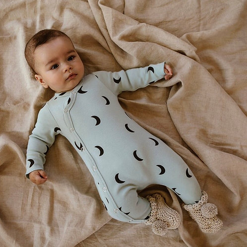Organic Zoo | Midnight Cloud Suit with contrast feet