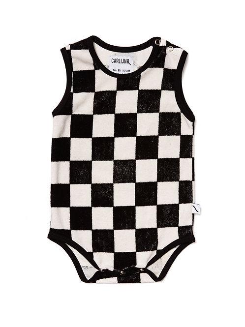 CarlijnQ | Checkers - Bodysuit