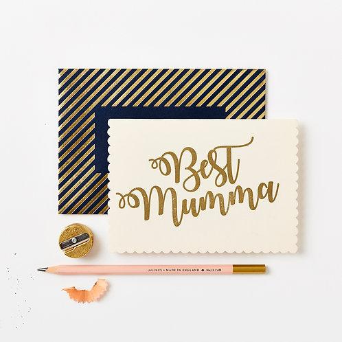 Katie Leamon | Gold Best Mumma Card