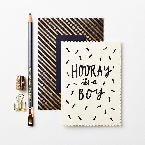 Katie Leamon |  Hooray It's A Boy Card