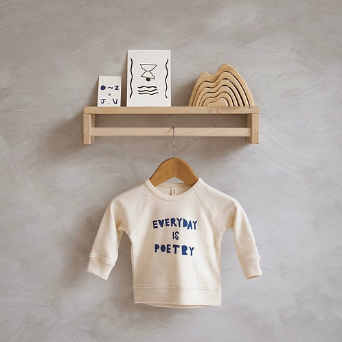Organic Zoo | EVERYDAY IS POETRY Oat Jersey