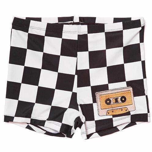 CarlijnQ | Checkers - swim shorts