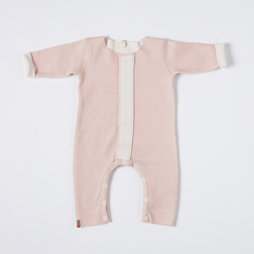 NixNut | Double Onesie - Old Pink