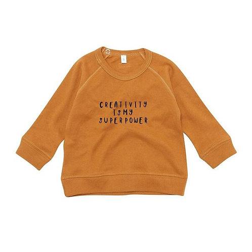 Organic Zoo | Spice Sweatshirt Creativity