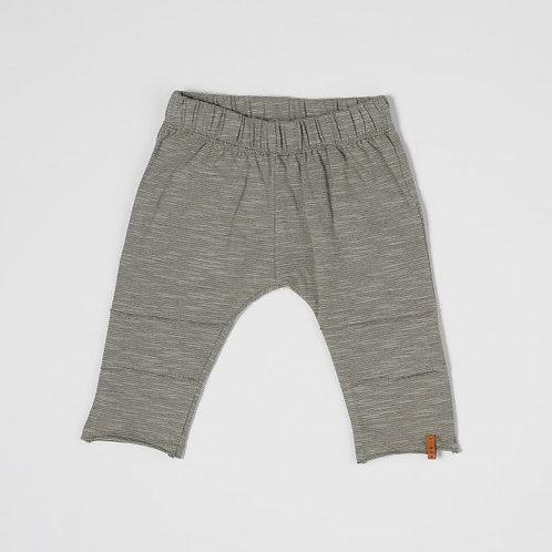 NixNut | Slim Pants - green stripe