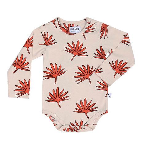 CarlijnQ   Palm Leaf - bodysuit longsleeve