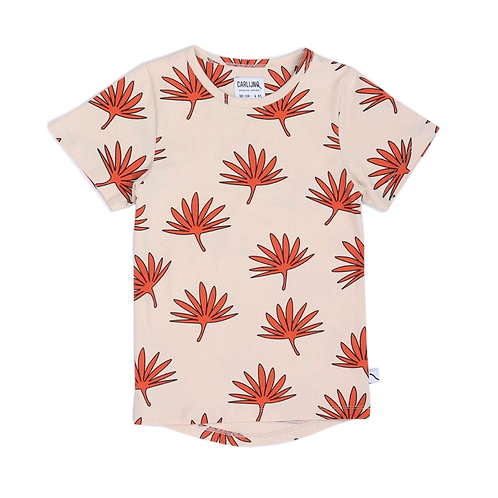 CarlijnQ | Palm Leaf - t-shirt dropback