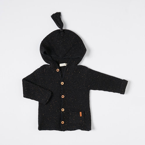 NixNut | Hoody – Black Speckle