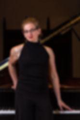 Tasha George-Hinnant, pianist based in Rochester, NY