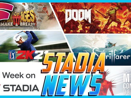 Stadia News - 5 New Games and More Game Discounts