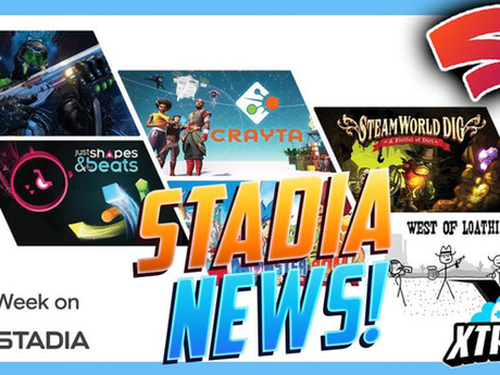 Stadia Update - New Pro Games, App Update and more