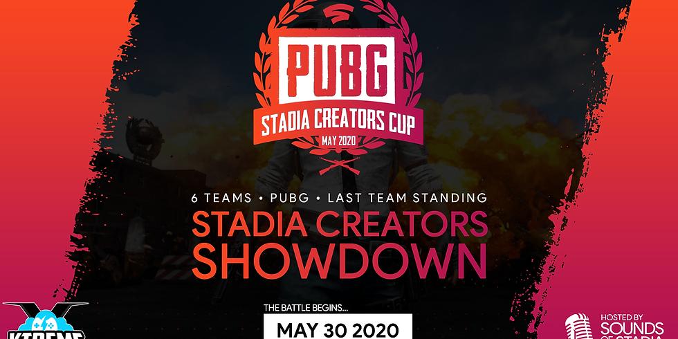 PUBG Stadia Creators Cup