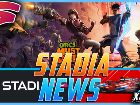 Stadia News - F1 Release and Orcs Must Die 3 Leak!