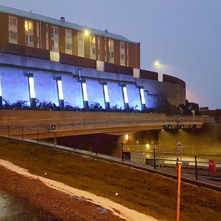 Městský tunel, Tampere, Finsko