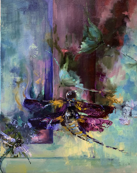 Abstract Dragonflies