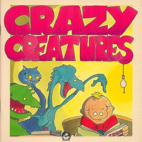KIDS BOOK - CRAZY CREATURES