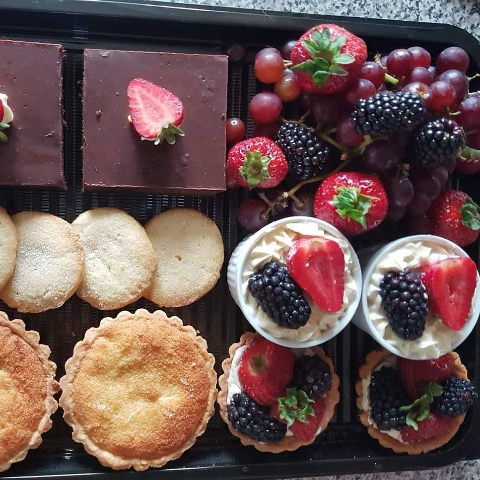 Tita World Cuisine Desert Platter